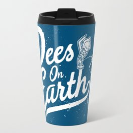 Pees (Peace) On Earth Travel Mug
