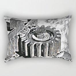 Gear wheel Rectangular Pillow