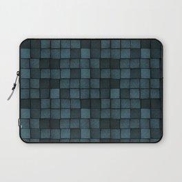 Wood Blocks-Blue Laptop Sleeve