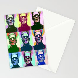 Frankenstein Pop Art Stationery Cards