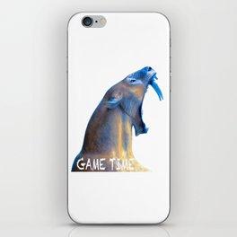 Hear Me Roar - Game Time iPhone Skin