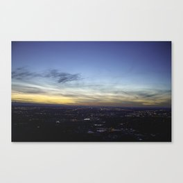 Boise Sunset Canvas Print