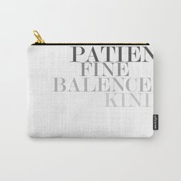 Skinny Love Typography Carry-All Pouch