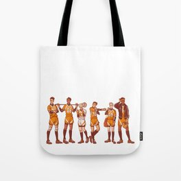 The Foxhole Court Tote Bag
