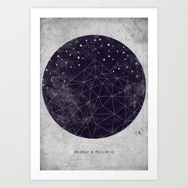 Geo Mountain Art Print