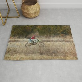 Dirt Bike Riding Rug