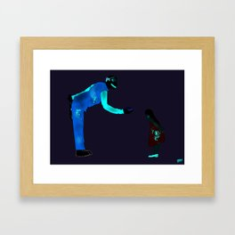 Ronnie II Framed Art Print