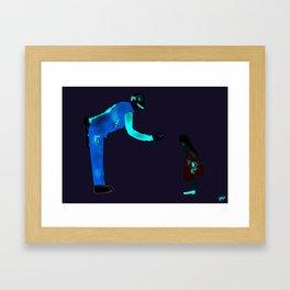 Ronnie II Framed Art Print