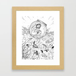 Plenty of Fish in the Sea Framed Art Print