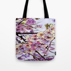 The Cherry Branch Tote Bag