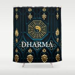 Dharma Shower Curtain