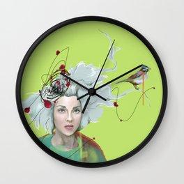 Annie Clark Wall Clock