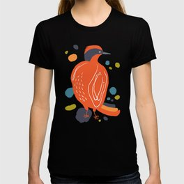 Quirky Helmeted Honeyeater T-shirt