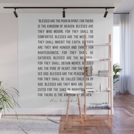The Beautitudes Wall Mural