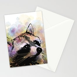 Raccoon 23 Stationery Cards