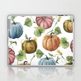 PUMPKINS WATERCOLOR Laptop & iPad Skin
