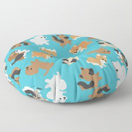 Dogs Galore Floor Pillow