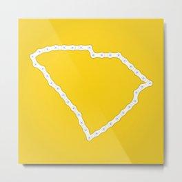 South Carolina: United Chains of America Metal Print