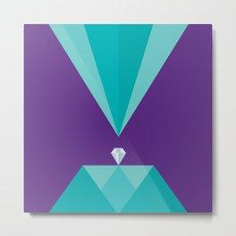 Diamond Metal Print