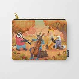 Musician animals in the wood Carry-All Pouch