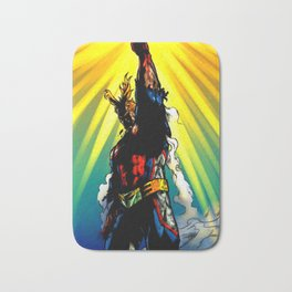 THE SYMBOL OF PEACE - ALL MIGHT Bath Mat