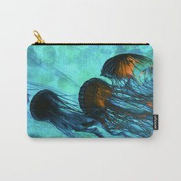 Jellyfish of the Under Sea Volcano Carry-All Pouch