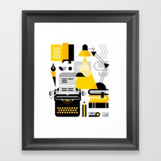 Creative Writing Framed Art Print