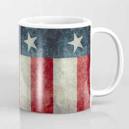 Texas state flag, Vintage banner version Coffee Mug