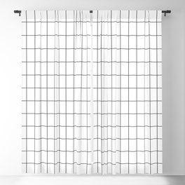 City Grid Blackout Curtain