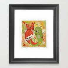Beasts Framed Art Print