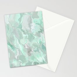 Marbles Green Dreams Stationery Cards