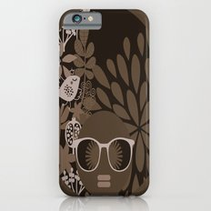 Afro Diva : Brown Sophisticated Lady iPhone 6s Slim Case