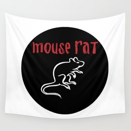 Mouse Rat - Parks and Rec Wall Tapestry