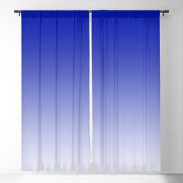 Ombre Zaffre Blue Duotone Blackout Curtain