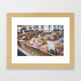 C r e a m P u f f z Framed Art Print