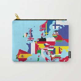 Europe flags Carry-All Pouch
