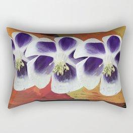 Flowers sisters Rectangular Pillow