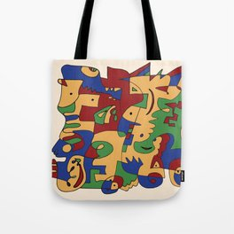 Saturday Jam - Jazz album Tote Bag