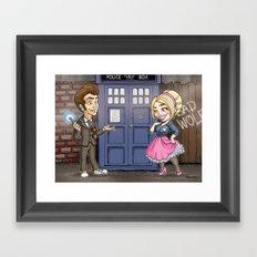 10th and Rose Framed Art Print