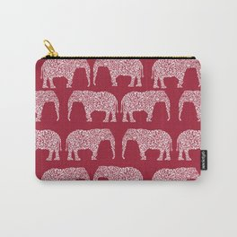 Alabama bama crimson tide elephant state college university pattern footabll Carry-All Pouch