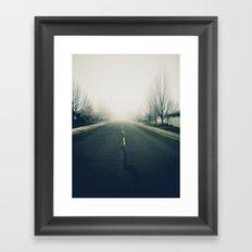 Fog Noir 1 Framed Art Print