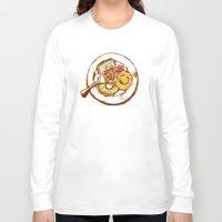 dessert Long Sleeve T-shirts featuring Dessert by EGARCIGU
