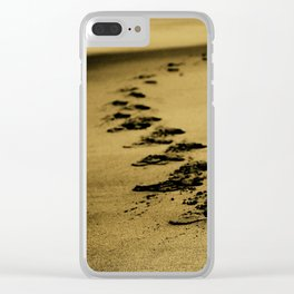 Sepia Sands Clear iPhone Case