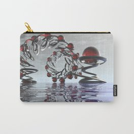Surreal Christmas in the sky  Carry-All Pouch