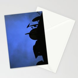 Incoming night on the city Stationery Cards