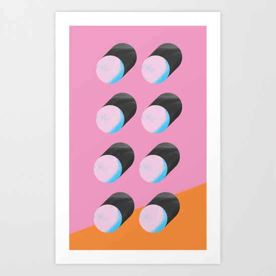 Itraconazol Art Print