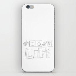 Christian Design - Choose Life - Deuteronomy 30 iPhone Skin
