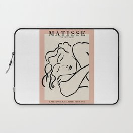 Henri matisse sleeping woman, matisse cut outs, cream and pink Laptop Sleeve