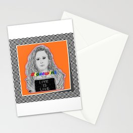 (Oitnb Nicky - Love Is Love) - yks by ofs珊 Stationery Cards