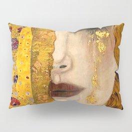 Gustav Klimt portrait The Kiss & The Golden Tears (Freya's Tears) No. 2 Pillow Sham